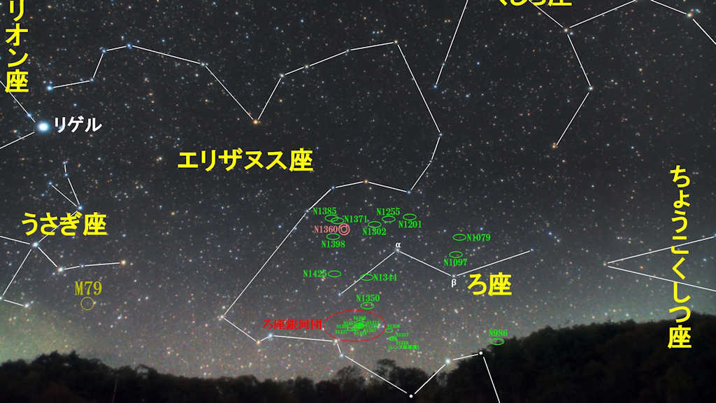 ろ座(炉座)/Fornax(フォルナックス)