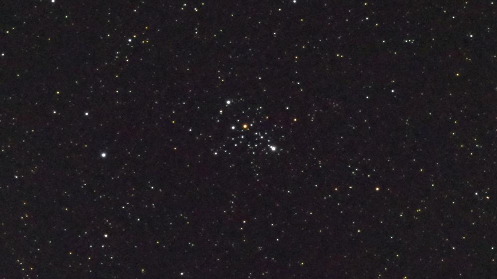 口径15.2cm反射望遠鏡(LXD-55)/F5/PENTAX-KP/ISO25600/カメラダーク/疑似フラット/露出15秒×16枚加算平均コンポジットした2017年08月19日00時39分44秒に撮影したM103の天体写真です。