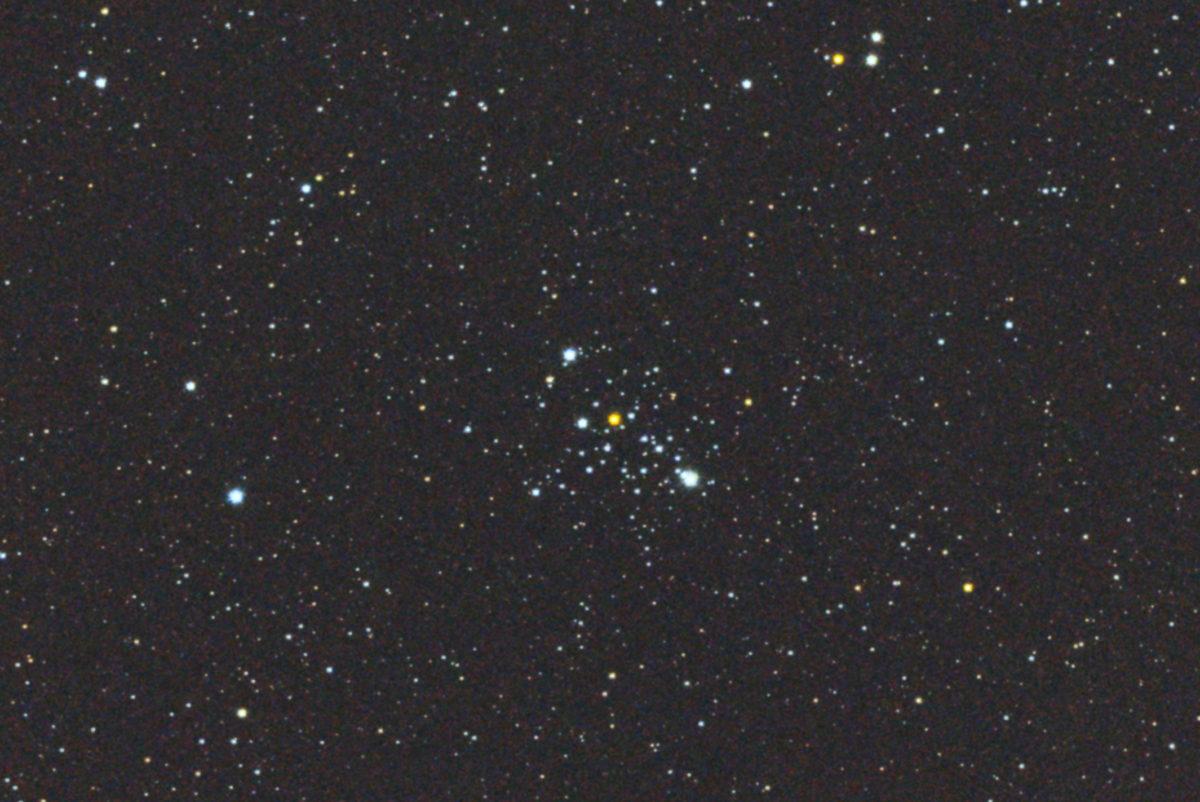 口径15.2cm反射望遠鏡(LXD-55)/F5/PENTAX-KP/ISO25600/カメラダーク/ソフトビニングフラット補正/露出15秒×16枚加算平均コンポジットした2017年08月19日00時39分44秒に撮影したM103の天体写真です。