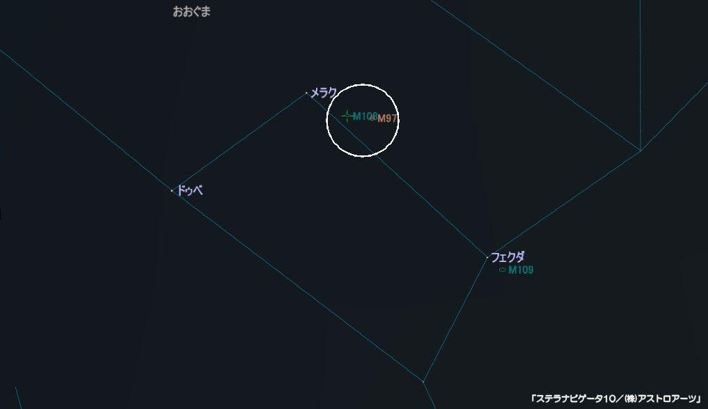 M108の星図