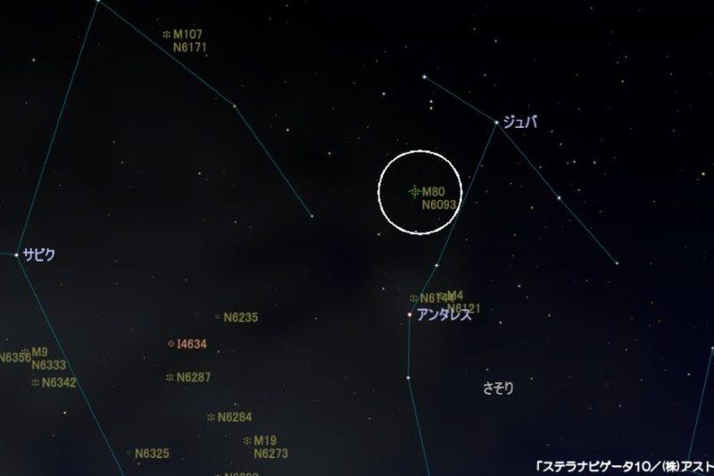 m80の星図