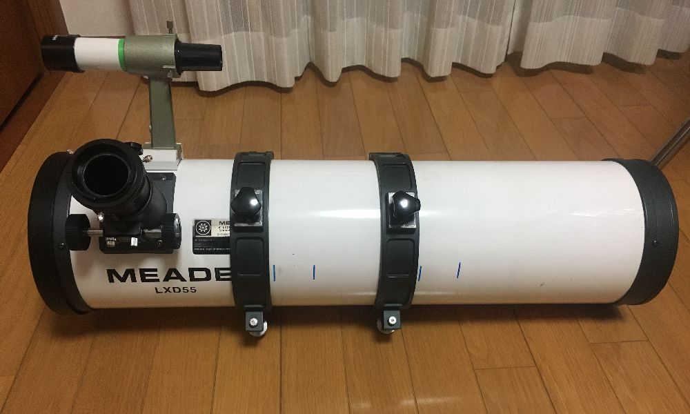 天体望遠鏡MEADE-LXD55本体
